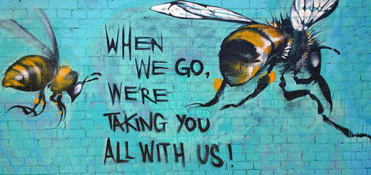 bee graffiti