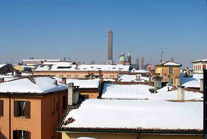 Bologna im Winter